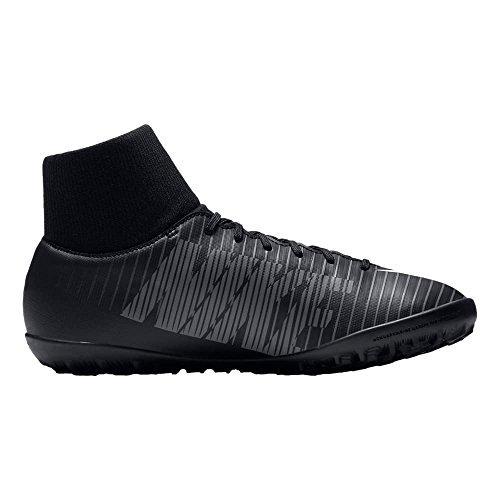 4Y Nike Kids MercurialX Victory VI Dynamic FIT Turf Soccer Shoes Black//White//Dark Grey Shoes