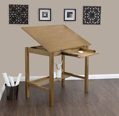 Worksurface Light - STUDIO DESIGNS Americana II Drafting Table 36in X 48in Light Oak 13253