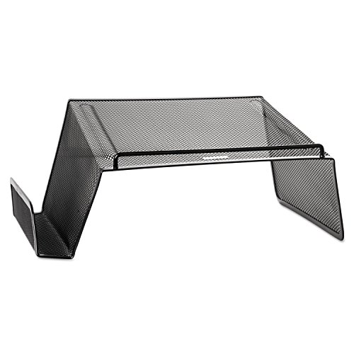 (Rolodex 22151 Mesh Telephone Desk Stand 10 x 11 1/4 x 5 1/4 Black)