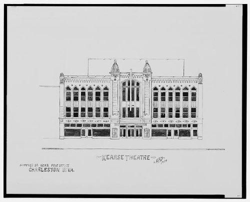 Infinite Photographs Photo: Kearse Theatre,Summer St,Charleston,WV,1934,Dumas (Kearse Photograph)