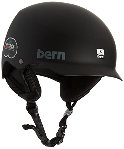 Bern Team Baker Snow Helmet Matte Black (Bern Baker Matte)