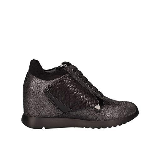 Zapatos Mujeres SW36205 Negro 004 Q35 Lumberjack qxTwvH6xt
