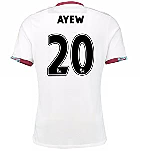 2016 2017 West Ham United Fc Trikot 20 Andre Ayew Away