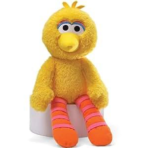 Amazon.com: Gund Sesame Street Big Bird Take Along Stuffed