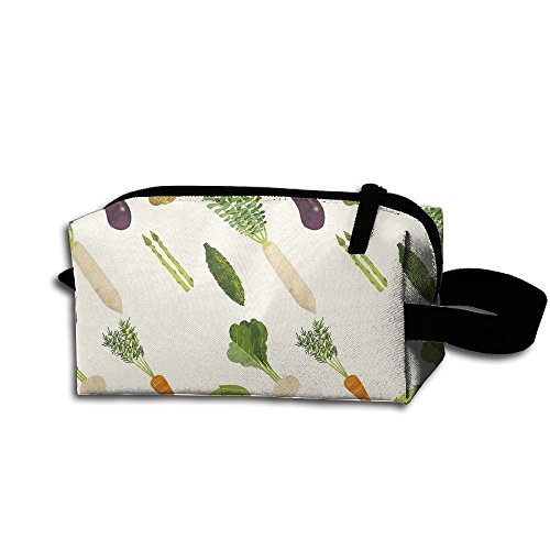 Storage Eggplant (Vegetable Cucumber Popato Carrot Eggplant Portable Storage Pouch Bag Handbag)