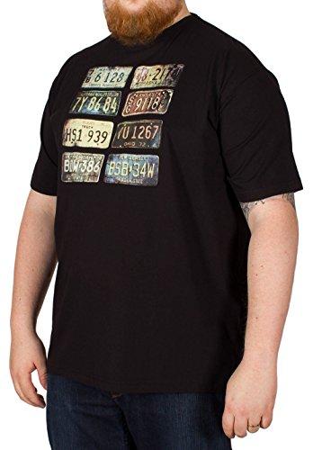 Metaphor Herren T-Shirt schwarz schwarz