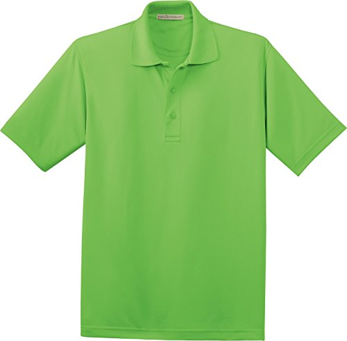 Port Authority Ladies Bamboo - Port Authority Ladies Bamboo Blend Pique Sport Shirt>3XL Vibrant Green L497