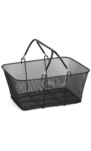 New - 12 Black Wire Mesh Retail Shop Shopping Basket Carts by Generic