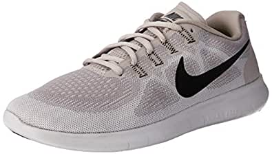 Nike Women's Free RN 2017 Road Running Shoes,Beige, 9 US (40 1/2 EU)