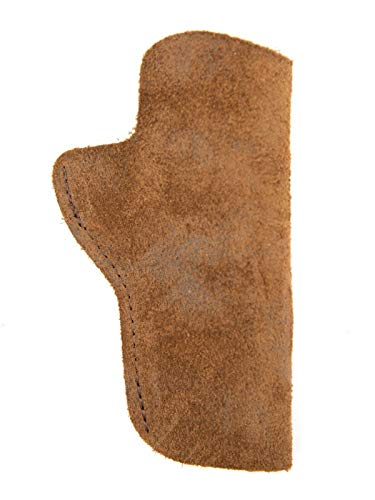 FHL 1911_Olympic ARMS Constable 45 Leather Suede Holster_IWB_Brown_RH_LH_USA (Right Brown) ()
