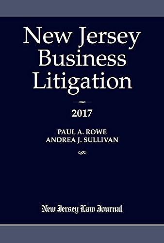 New Jersey Business Litigation 2017