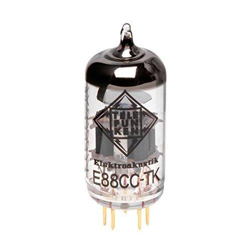 TELEFUNKEN Elektroakustik E88CC-TK | Pre Amp Tubes Offering Precise Imaging Unmatched Dynamics