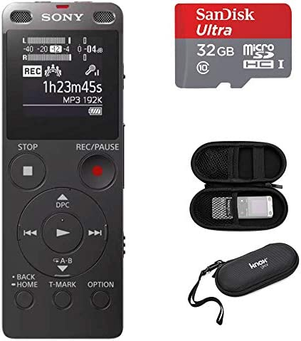 Sony ICDUX560BLK Digital Recorder Carrying product image