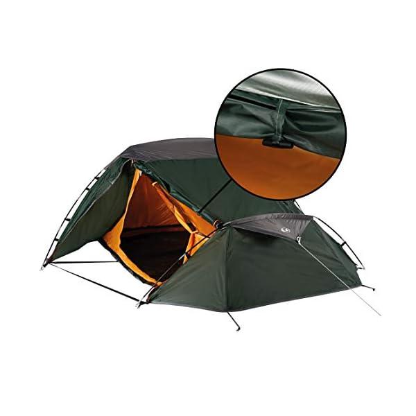 Ultrasport Tienda de campaña adecuada para festivales, camping y trekking, se entrega con bolsa de transporte… 2
