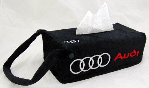 audi-car-seat-tissue-box-cover-holder-case-black