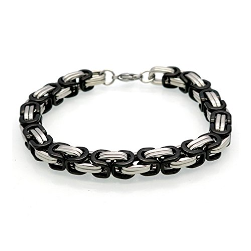 G&T Handsome Titanium Jewelry Men Expreses Stainless Steel Bracelet Holiday Gift(C3) (Homemade Egyptian Costume For Boys)