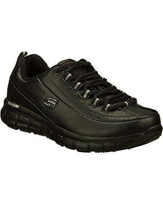 Skechers Women's Sure Track Trickel Slip Resistant Work Shoes