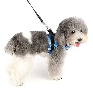 SELMAI Arnés para Perros Pequeños Ajustable Malla Suave Respirable ...