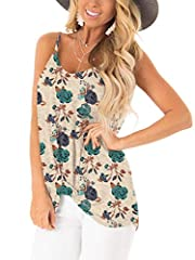 """SAMPEEL Women's Casual T Shirts Twist Knot Tunics TopsSize Guideline:Size Small: Bust: 90cm/35.4"""", Shoulder: 39cm/15.3"""", Length:76cm/29.1""""Size Medium: Bust: 95cm/37.4"""", Shoulder: 40cm/15.7"""", Length:77cm/29.5""""Size Large: Bust: 105cm/41.3"""", Sho..."""