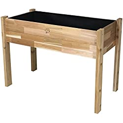 Gro Products 18-EGB3-2448 Elevated Garden Bed, 48 x 24 x 34, Cedar