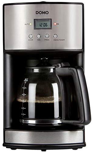 Domo DO473K - Cafetera (Independiente, Cafetera de filtro, 1 ...