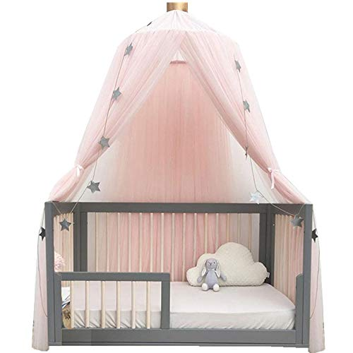 ESUPPORT Dome Princess Bed Canopy Round Lace