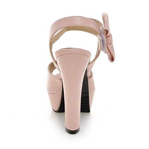 Shoes Pink Fashion Sandals KemeKiss Peep Toe Women A0Y5wqX