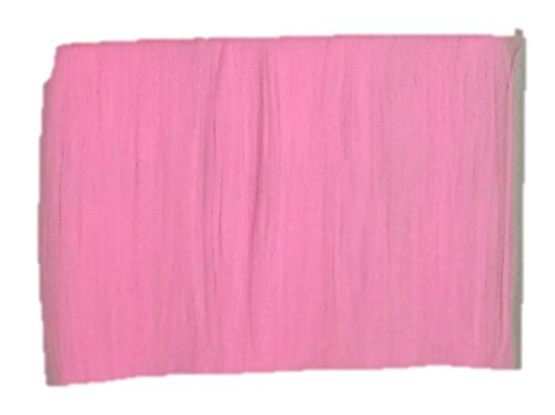 (Nylon Stocking Fabric Flower Floral High Stretch Plain DIY Material Wine Jam Magenta Punch Rose Pink Violet Purple Spandex (Pink))
