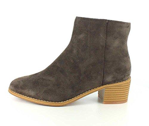 Stiefel Khaki Wildleder Myth CLARKS 7 Breccan Closed Damen Größe Fashion 5 Toe Y10qB8
