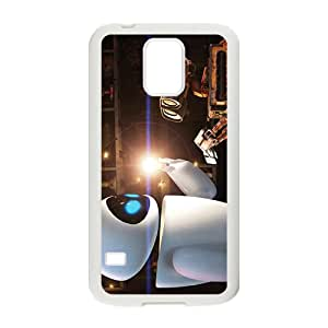 Warm-Dog wall-e and eve wide Case Cover For samsung galaxy S5 Case
