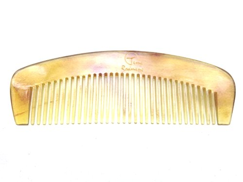 Time Roaming 100% Handmade Natural Horn Comb 3.5