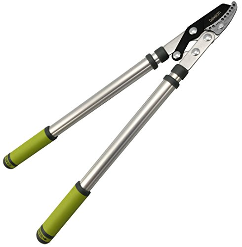 Pro Telescopic Anvil Loppers – Less Effort Sharp Easy Cut – Lightweight...