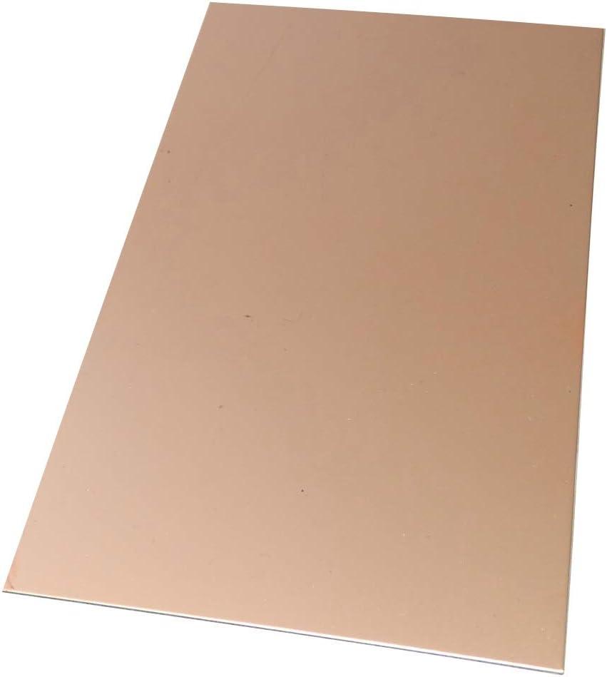 Placa Hojas de Cobre para Circuito Impreso 160//100//1.0mm 35/µm Aluminio C40746 AERZETIX