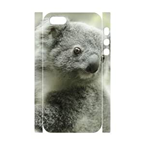 QSWHXN Cell phone Protection Cover 3D Case Koala For Iphone 5,5S