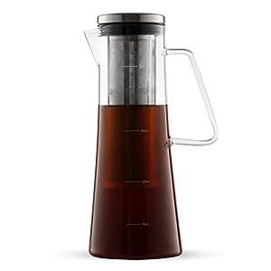 Amazon.com: Cold Brew Coffee Maker - Iced Coffee Glass ...