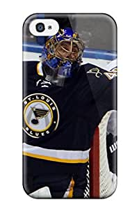 Iphone Case - Tpu Case Protective For Iphone 4/4s- St-louis-blues Hockey Nhl Louis Blues (100)