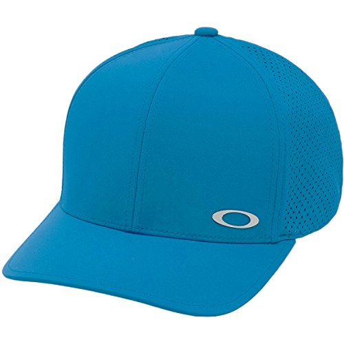 Oakley Men's Aero Perf Hat, Stone Gray, S/M