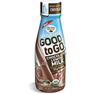 Organic Valley, Organic Single Serve Chocolate 1% Lowfat Milk, 11 oz (Pack of 12)