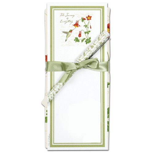 Price comparison product image Alice's Cottage ACU26438 Hummingbird Flour Sack Towel and Magnetic Note Pad Set
