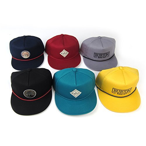 Burton Men's Mountain Caps (6 Pack), One Size, Assorted