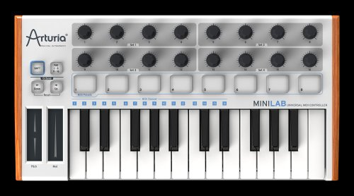 Arturia Midi Controller Minilab 25 Key Synthesizer Software Included