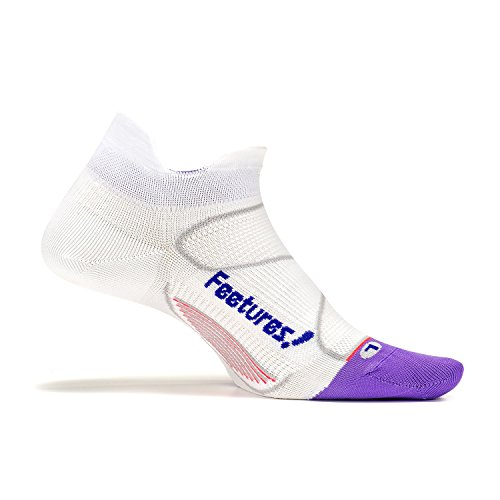 Ultra Light Tab And Feetures Athletic Running iris Socks Elite White Women For Men No Show 4qfn1CU