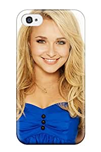 Top Quality Rugged Beautiful Hayden Panettiere Case Cover For Iphone 4/4s