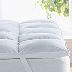 Relax into the extra support provided by the down alternative filling that cradles your body for a restful night's sleep. Gusset baffle box construction maintains loft and ensures even filling distribution for optimum comfort. Generously fill...