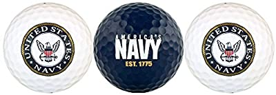 United States NAVY USN Golf Ball Gift Set