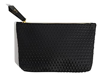 e14f38a35f Amazon.com   IPSY September 2017 Black Faux Leather Glam Bag - Makeup Bag  Only   Beauty