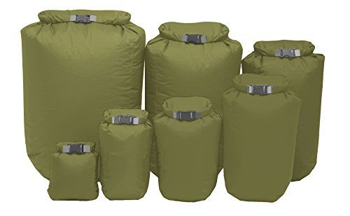 Exped fold dry bag olive green Small 5ltr by Exped Exped Fold Dry Bags