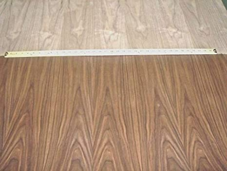 Walnut Wood Veneer 24 X 96 With Peel And Stick Psa Adhesive