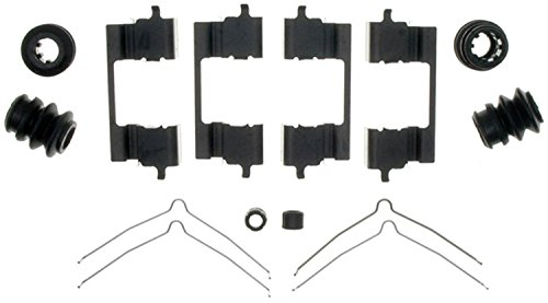 ACDelco 18K1758X Professional Front Disc Brake Caliper Hardware Kit with Clips, Springs, Seals, and Bushings