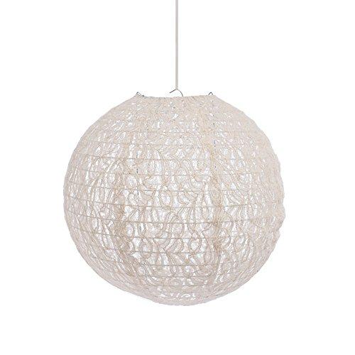 Creative Ideas LACE Lantern, Ivory Wedding Decor ()